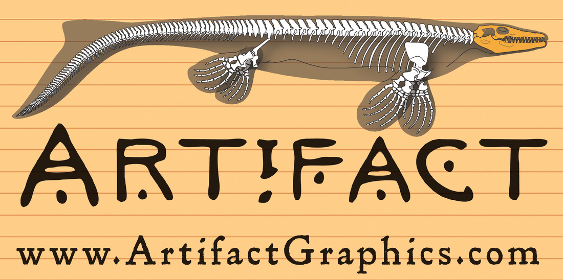 Plesiotylosaurus bone map by Michelle Leveille of Artifact Graphics, for the Natural History Museum of Los Angeles County.