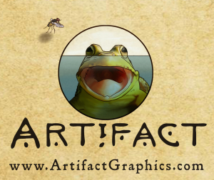 Frog illustration by Michelle Leveille