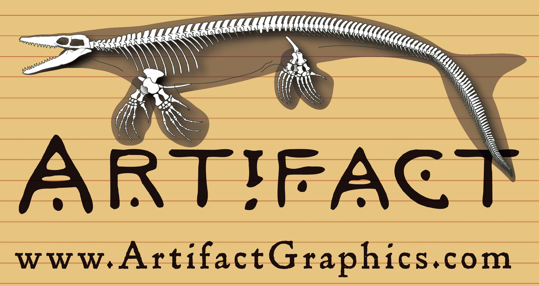 Platecarpus bone map by Michelle Leveille of Artifact Graphics for the Los Angeles County Natural History Museum.